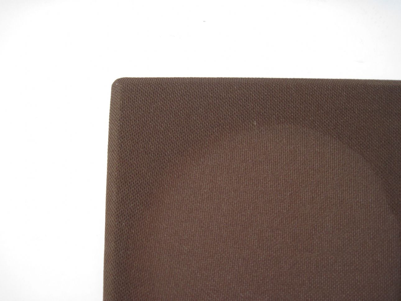 Brown crimplene original French 1970 s hi-fi cloth ideal for